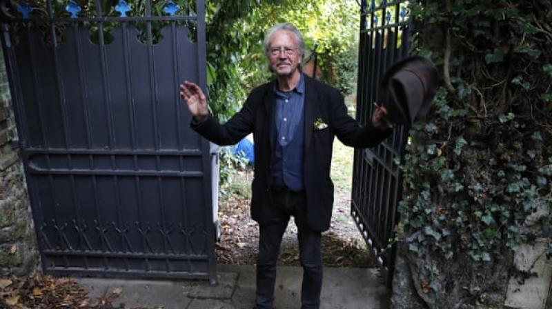 Austrian writer Peter Handke's Nobel literature prize win on Thursday sparked outrage in Albania, Bosnia and Kosovo, where he is widely seen as an admirer of late Serbian strongman Slobodan Milosevic. (Photo: AFP)