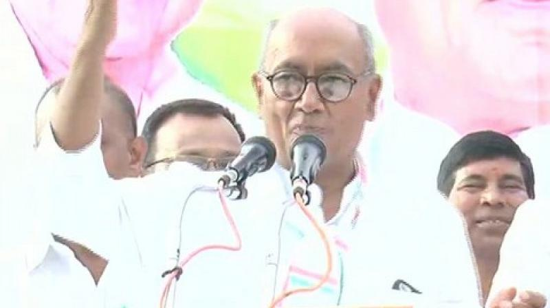 Senior Congress leader Digvijaya Singh on Wednesday said that he and five-time MP Kantilal Bhuria have reached an age where they should retire. (Photo: ANI)
