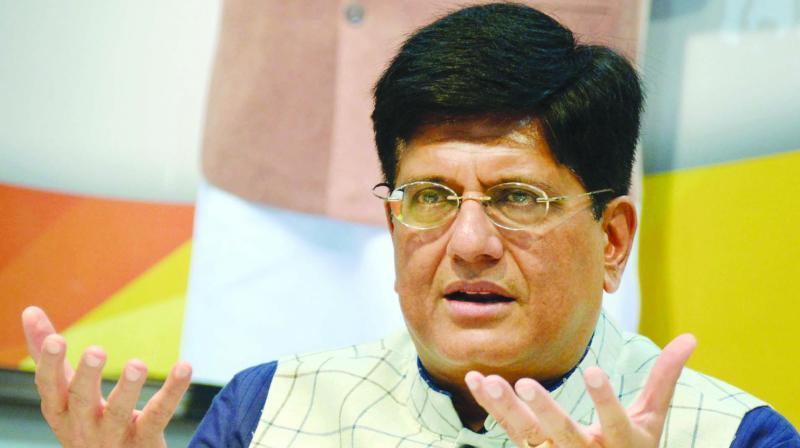'Electoral bonds brought in honest money in electoral politics. People who are revolting against electoral bonds have grown used to black money and believe in its usage during elections,' senior BJP leader and Union Minister Piyush Goyal said. (Photo: File)