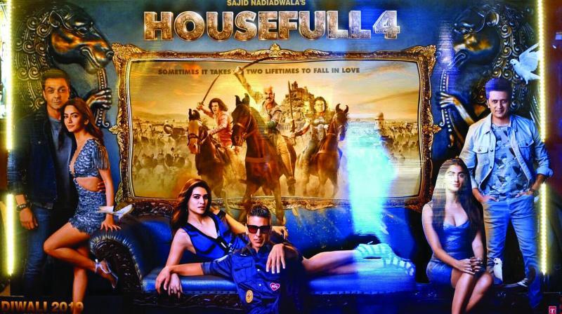 The poster of the Akshay-starrer Housefull 4.
