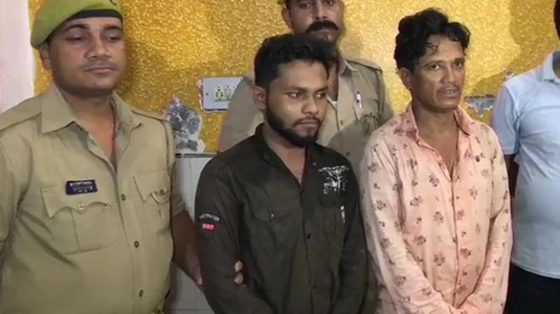 Apart from one, identified as Rajjak who had his passport with him, the rest did not possess any valid travel document, the Railway Police said. (Photo: ANI)