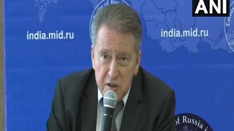 'This is the sovereign decision of the Indian government, it's an internal matter of India,' Russian Envoy to India, Nikolay Kudashev said. (Photo: ANI)