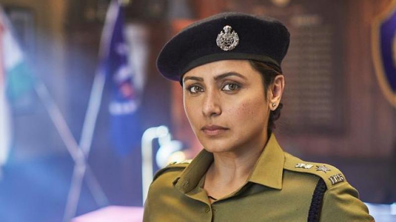 Mardaani 2 still featuring Rani Mukerji.