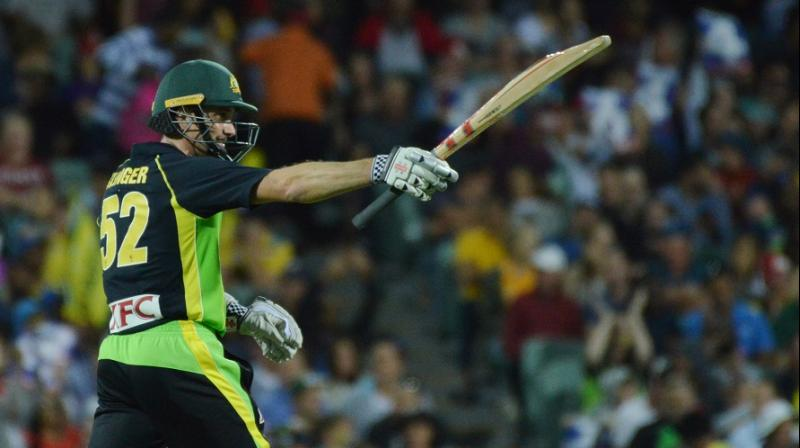 Michael Klinger proved the mainstay of the innings with 62 from 43 deliveries with six fours and a six. (Photo: AFP)