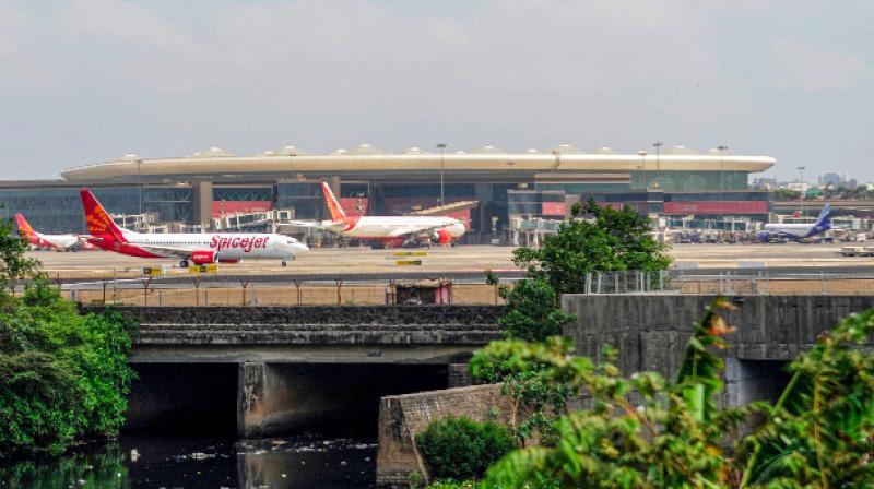 Adani Group to pick 74 pc stake in Mumbai airport. (PTI Photo)