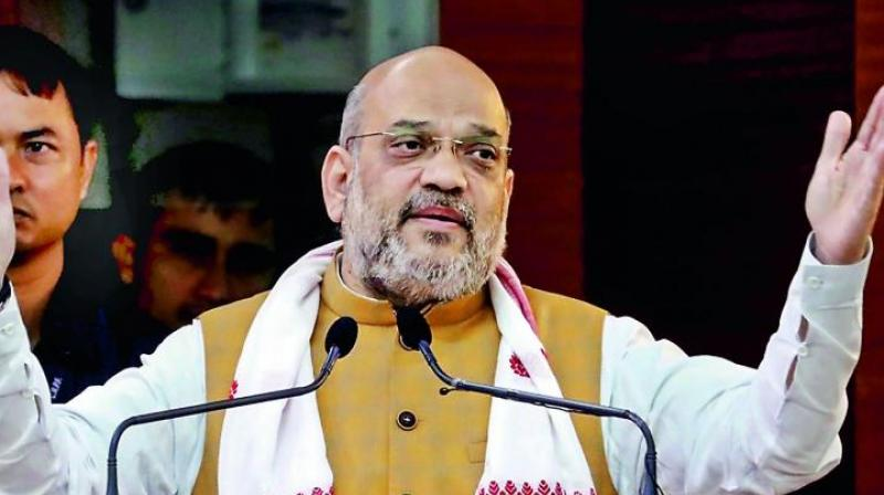 Amit Shah discharged from AIIMS. (PTI Photo)