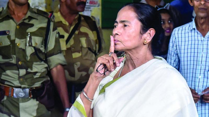 Sources said that some central forces would have normally stayed in the state till the counting of votes on May 23. The MCC is applicable till May 25. (Photo: PTI)