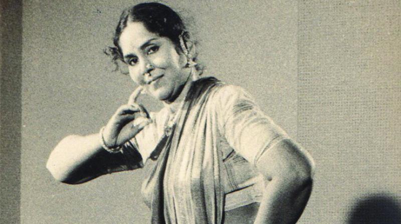 Legendary Bharatanatyam dancer T Balasaraswati