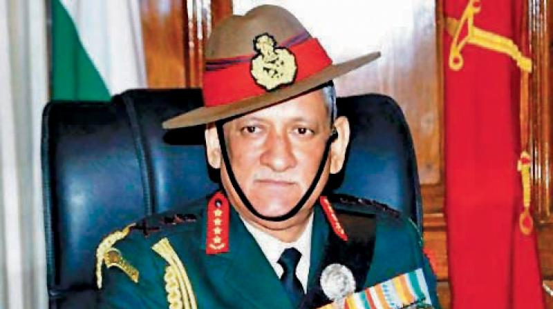 General Bipin Rawat, Chief of Defence Staff