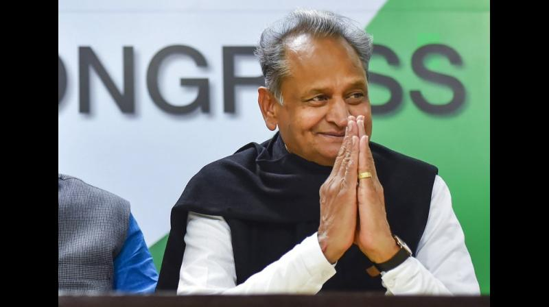 Congress recently won Rajasthan Assembly elections, garnering 99 seats in 200-member Assembly, forming government with the support of Rashtriya Lok Dal and Ashok Gehlot at the helm. (Photo: File | PTI)