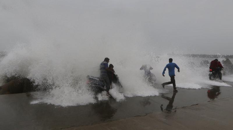 The towns of Puri, Paradeep, Gopalpur were hit by winds measuring the speed of 175 kmph. (Photo: File)