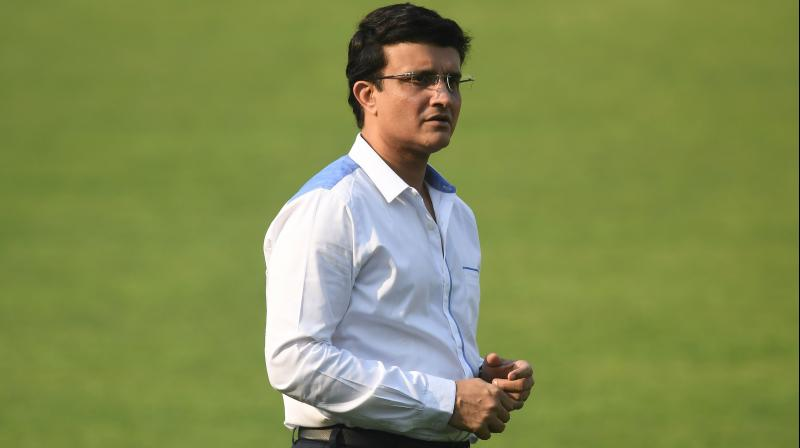 BCCI president and former India captain Sourav Ganguly. (AFP)
