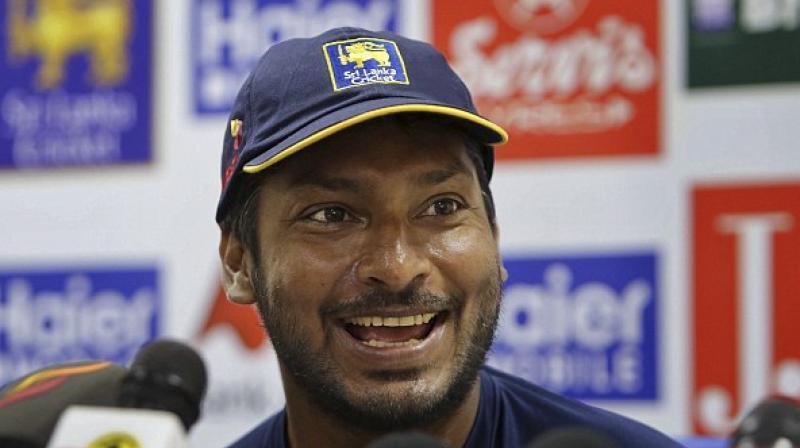 """They (Sri Lanka) should express their talent and play a really positive brand of cricket,"" said Kumar Sangakkara ahead of India-Sri Lanka clash. (Photo: AP)"