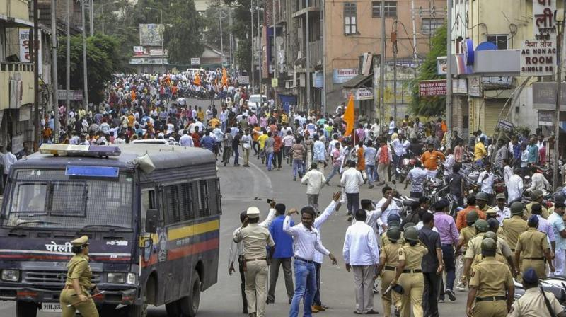 The major demand of the protestors include Maratha reservation, all cases against protestors to be withdrawn, strict action to be taken officers for firing and lathi charge during the July 25 protest. (Photo: File)
