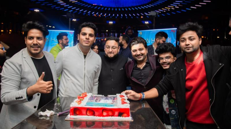 The owners of new bollywood record label Musiway, Abhishek Talented, Ambuj Singh and Amol Shrivastava are very excited for their new venture and are very strong with their vision to cater International music with indian style.