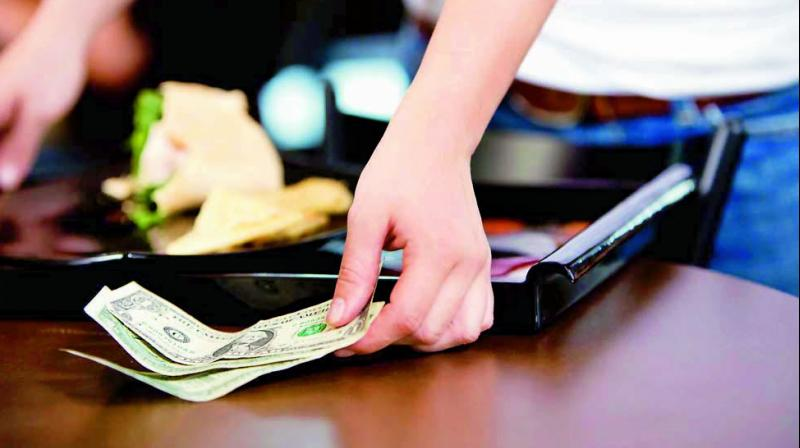 However, how much tip you offer to the one who serviced you is just one aspect of dining-out etiquette; there is a whole take on how one needs to offer the tip.