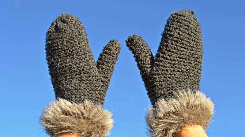 The pair of interconnected gloves, where the fingers 'flex' in one glove and the actions are transmitted to a remote partner wearing the other. (Photo: Pixabay)