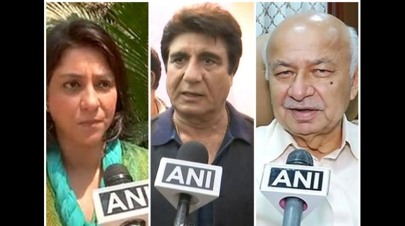 The Congress party on Wednesday released the second list of 21 candidates including Priya Dutta from Mumbai North-Central Lok Sabha seat, and UP party unit chief Raj Babbar from Moradabad. (Photo: ANI)