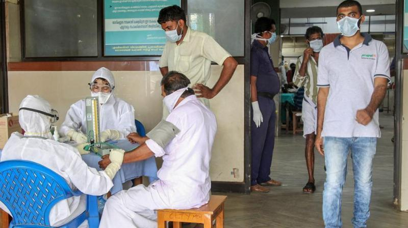 Shailaja said samples collected from the five people currently being treated at the isolation ward of Kalamassery Medical College Hospital have been sent to National Institute of Virology in Pune this morning. (Photo: File)