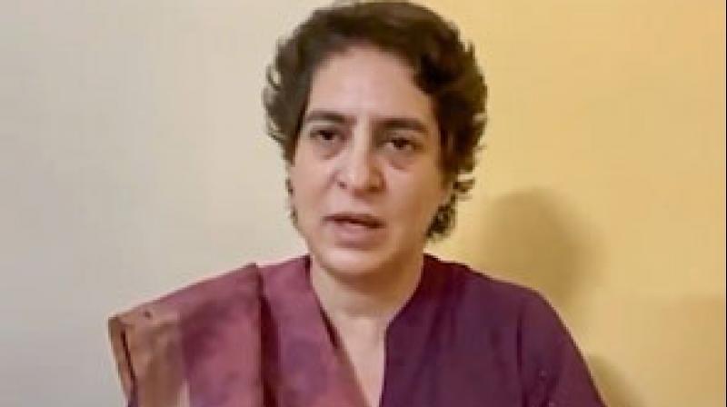 Congress General Secretary Priyanka Gandhi Vadra. (PTI Photo)