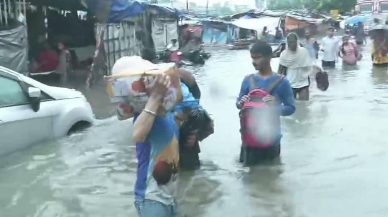 As the severe water-logging in Patna has left thousands affected and an outbreak of dengue revealed an apparent rift between the partners of the ruling alliance in Bihar. (Photo: File)