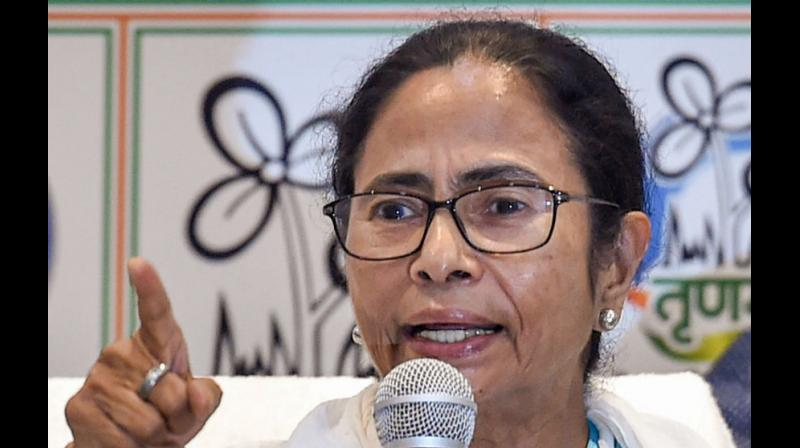 'We will never allow NRC exercise and Citizenship Act in Bengal. We will not implement the amended Act, even though it has been passed in Parliament. The BJP can't just bulldoze the states to implement it,' Banerjee said. (Photo: PTI)