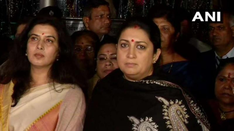 Irani said, ''We have registered our objection against the remark of Rahul Gandhi. Election Commission has assured us that they will follow the legal procedure and do justice.