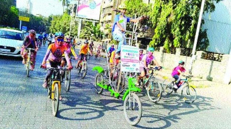 A cyclist for 24 years, Johny has a Limca Book of Record for completing Chandigarh to Delhi in 16 hours on his seven feet tall cycle in 2001.