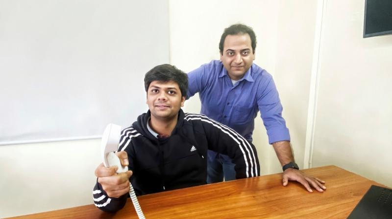 Akshat Malik, Founder & CEO with Alan Miller, SVP – Operations ClickOnCare.com