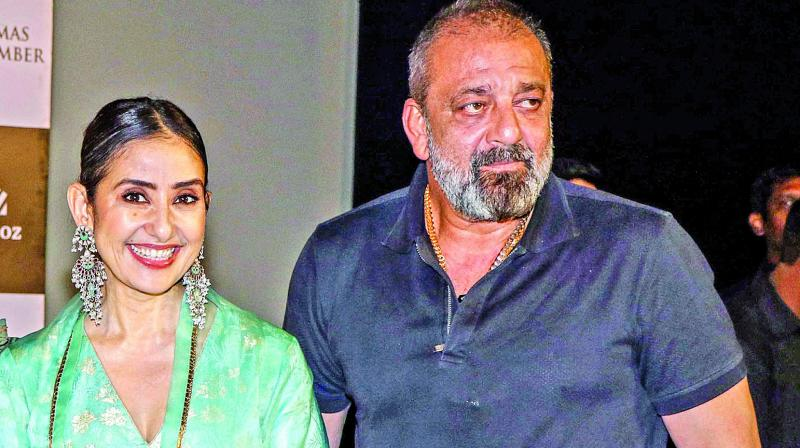 Manisha Koirala and Sanjay Dutt.