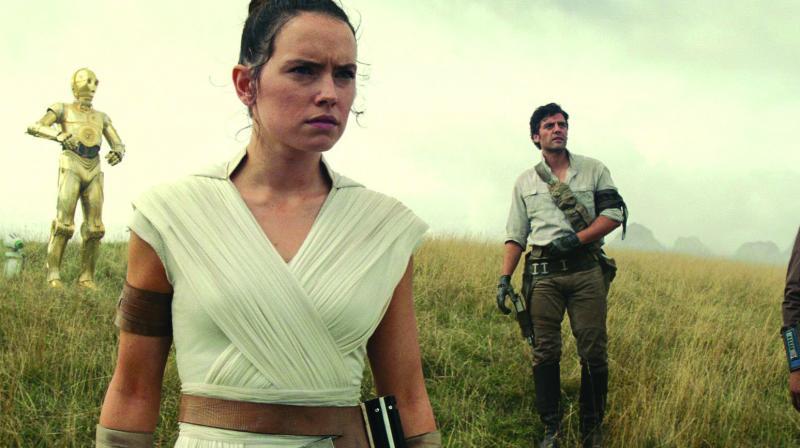 The current Star Wars trilogy ends in December 2019 with Skywalker.
