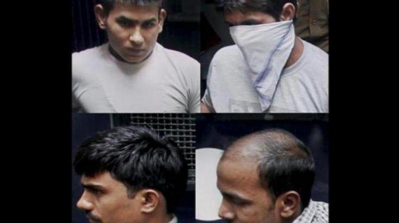 The Supreme Court dismissed the review petitions filed by three of the four convicts Mukesh (31), Pawan Gupta (24) and Vinay Sharma (25), saying no ground has been made out by them for a review of the top court verdict of May 5 last year. (Photo: File)