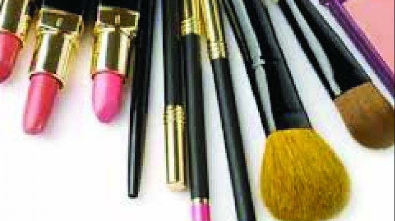 """The Food and Drug Administration on Monday raided the premises of Nykaa E. Retail Pvt. Ltd. in Thane and confiscated boxes full of """"branded"""" kajal, lipstick, lip balm, eyeliner and other cosmetics worth Rs 88 lakhs."""