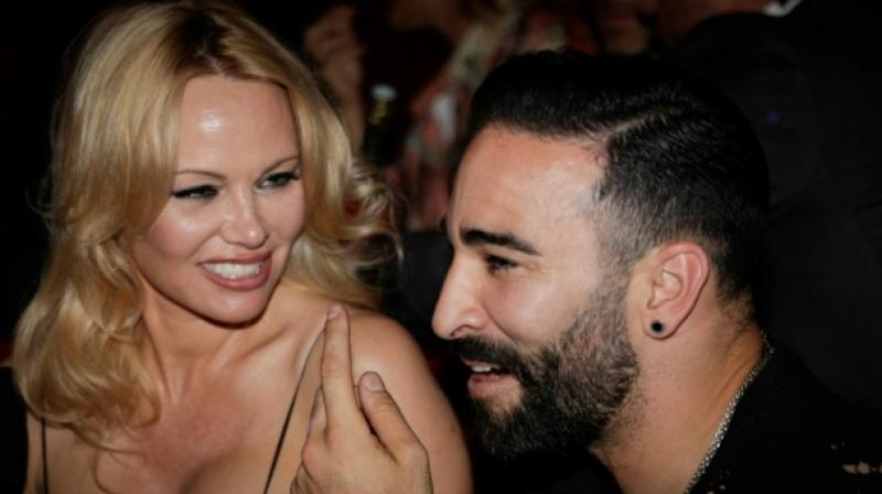 The couple's romance appears to have ended abruptly, with Anderson accusing Rami of cheating on her. (Photo:AFP)
