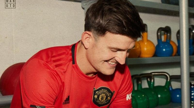 Manchester United on Monday had confirmed the signing of defender Maguire from Leicester City. (Photo: Twitter/Manchester United)
