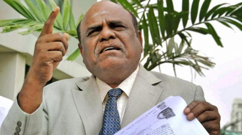 Justice Karnan had earlier moved the apex court seeking his release and cancellation or suspension of the jail sentence in the contempt of court case. (Photo: PTI)