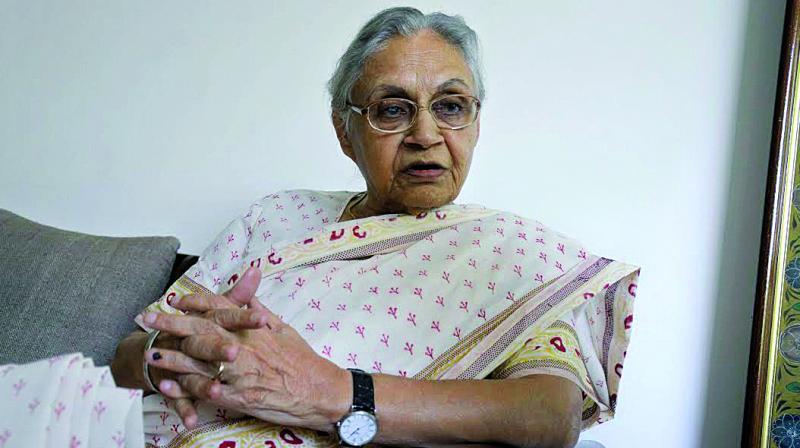Sheila Dikshit (Photo: Sondeep Shankar)
