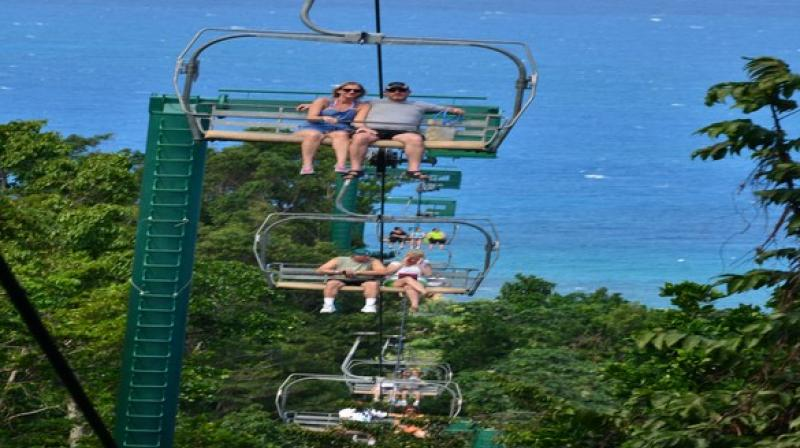 Not only Jamaica offers beautiful places to visit, but also offers a plethora of activities for lovers seeking romantic bliss. (Photo: ANI)