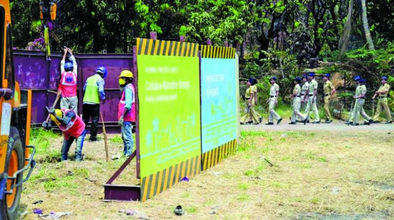 Environmentalists have been emphasising on Kanjurmarg plot as an alternative plot, given its flat surface and lesser impact on environment.