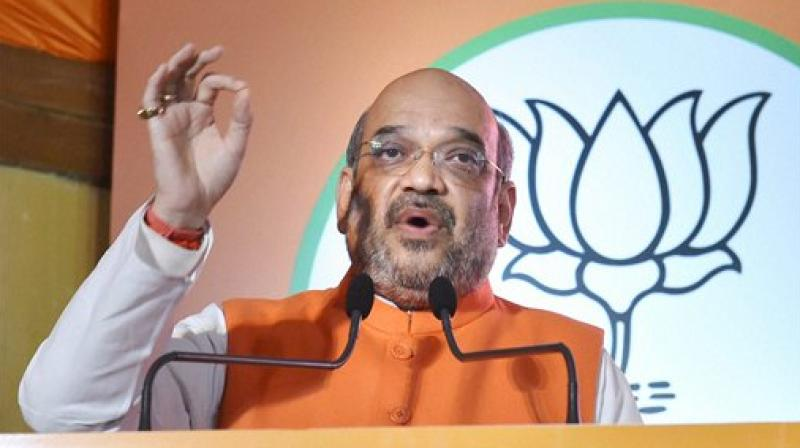 Bharatiya Janata Party President Amit Shah. (Photo: File)
