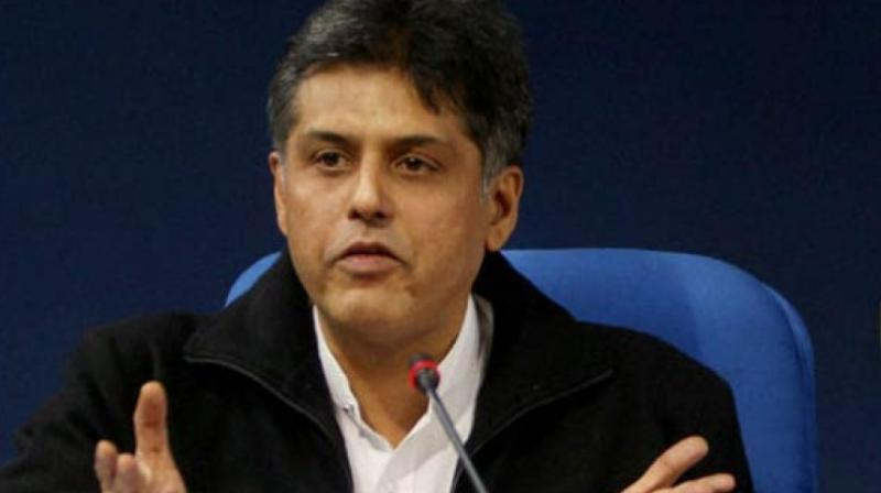 Congress leader Manish Tewari. (Photo: File)