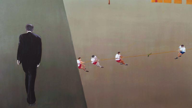 Lone fighter by Nivedita Pandey
