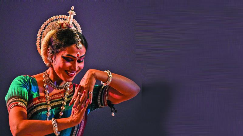 The Javali in Kamas was what the dancer had imbibed from Kalanidhi Narayanan.