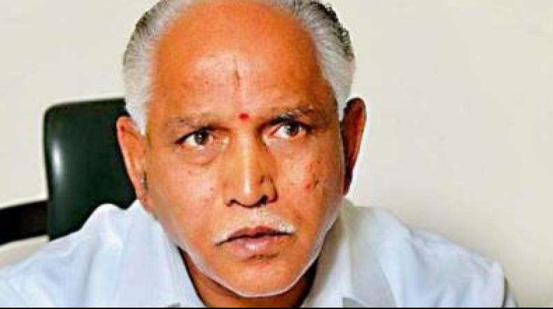 More than three weeks after he was sworn in as the Chief Minister of Karnataka and running a 'one-man' Cabinet since then, Yediyurappa inducted 17 Ministers. (Photo: File)