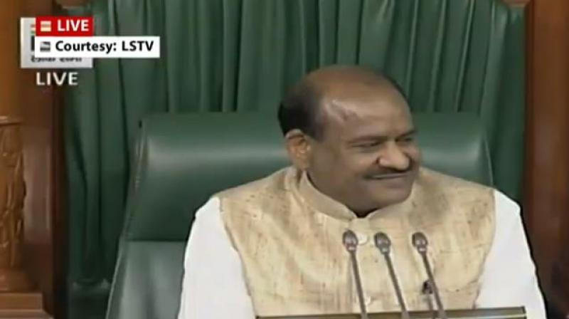 Seeking cooperation from all the members for a smooth functioning of the House, Birla said they should raise the questions and issues that come under the ambit of the central government.  (Photo: ANI   Twitter)