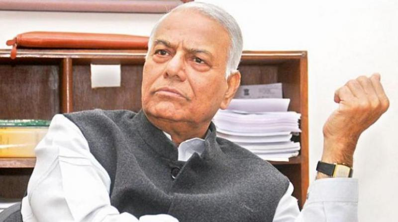 Former BJP leader Yashwant Sinha on Saturday questioned Finance Minister Nirmala Sitharaman's claim that rise of Ola and Uber affected the automobile sector, asking why the sales of trucks should also decline. (Photo: File)