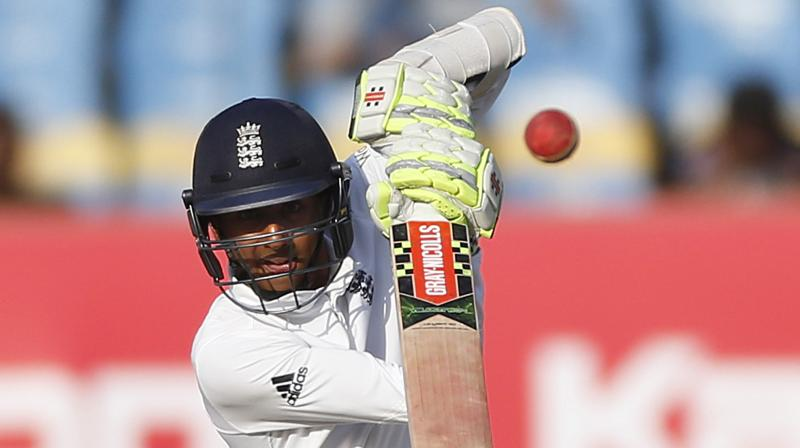 19-year-oldHameed played a 144-ball 25, in an effore to save the Vizag Test for England. (Photo: AP)