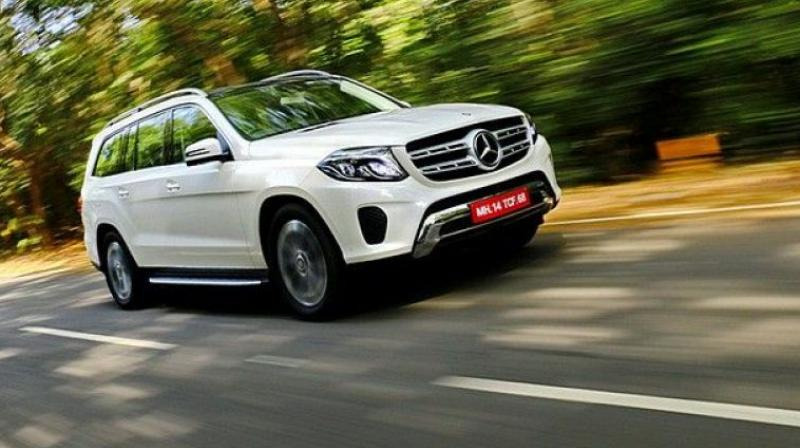 German luxury carmaker Mercedes-Benz on Wednesday launched Grand Edition of its flagship SUV GLS in India with both petrol and diesel powertrains priced at Rs 86.90 lakh (ex-showroom).