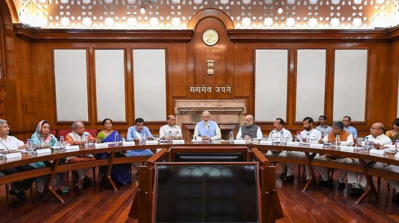 Prime Minister Narendra Modi-led central government has reconstituted eight key cabinet committees, including appointments committee, the cabinet committee on economic affairs, and security, among others.(Photo: PTI)