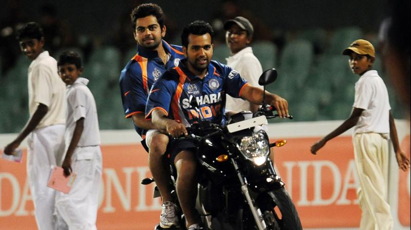 Rohit Sharma recently captained Mumbai Indians to a record third Indian Premier League title. (Photo: AFP)